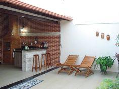 Картинки по запросу transformar área de serviço em área de churrasco e lazer Outdoor Spaces, Outdoor Living, Outdoor Decor, Porch Decorating, Interior Decorating, Patio Design, House Design, Decoration, Outdoor Furniture Sets