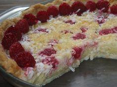 Raspberry Coconut Custard Pie - Recipes -