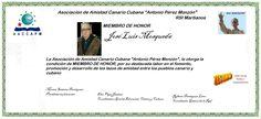 Martianos. ACC-APM. José Luís Mosqueda Miembro de Honor