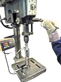 Build Make Plastic Injection Molding Drill Press Attachment DIY How to