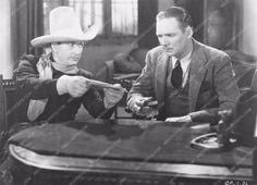 photo Tim McCoy Wheeler Oakman western film Ghost Patrol 77-05