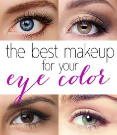 How to Pick the Best Eye Shadow Shades For Your Eye Color: Make Your Eyes Pop!