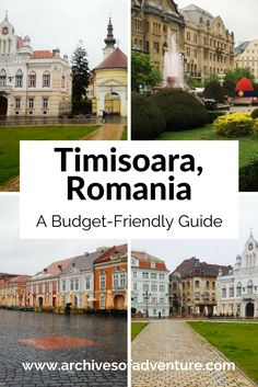Apr 2019 - If you want to get off the beaten path in Romania, travel to Timisoara. Located in the western part of Romania, here is my travel guide to Timisoara. Europe Travel Guide, Europe Destinations, Budget Travel, Travel Ideas, Beach Trip, Vacation Trips, Beach Travel, Euro Travel, Vacation Travel