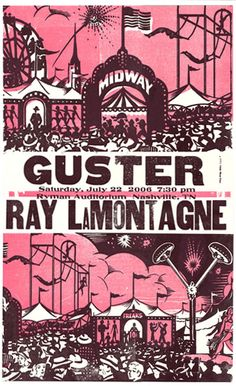 GigPosters.com - Guster - Ray Lamontagne