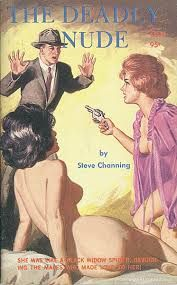 Unknown artist, The Deadly Nude by Steve Channing.