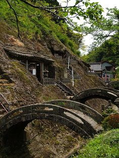 Japan. ancient stone  bridges // by umitomo, via Flickr http://www.asahi-net.or.jp/~hn7y-mur/mononoke/monolink11.htm