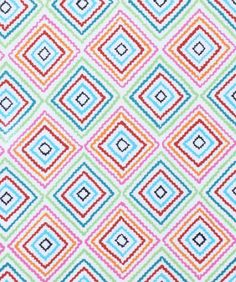Alexander Henry 'Diamond Zig Zag' Fabric 1 by SpoonfulsOfLoveLLC, $8.99