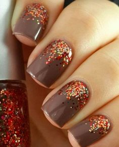 The Thanksgiving nail art ideas you NEED to see
