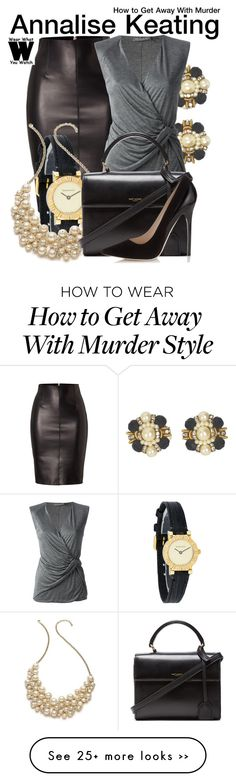 """""""How to Get Away With Murder"""" by wearwhatyouwatch on Polyvore"""