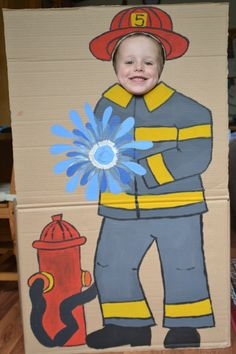 Firetruck Themed Birthdayparty - Agnes S. - Firetruck Themed Birthdayparty Photo booth and other ideas for a firetruck/fireman themed birthday party - Third Birthday, 3rd Birthday Parties, Boy Birthday, Birthday Celebration, Cake Birthday, Birthday Greetings, Birthday Ideas, Birthday Cards, Happy Birthday