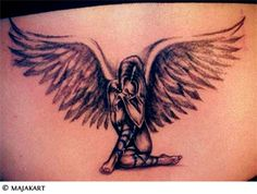 Small Guardian Angel Tattoo Designs | guardian angels tattoos women angel tattoos images like tattoo ...