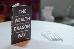 John Lee was signing the Wealth Dragons' new book following the guest speakers.