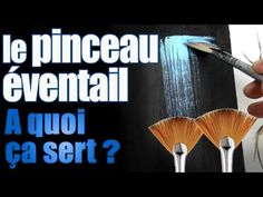A quoi sert le pinceau éventail ? ( fan brush ) What is the fan brush for? Painting Techniques Canvas, Acrylic Painting For Beginners, Painting Videos, Painting Lessons, Art Techniques, Paint Drop, Fan Brush, Free Art Prints, Watercolor Brushes