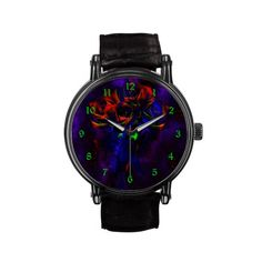 Death's Roses Gothic Art Watch by Gothic Toggs