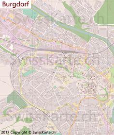 Mappa di Uster map karte carte mappa Pinterest