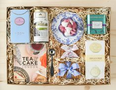 Every Christmas, I make it a pointtolook throughHarrod's online catalog of Christmas hampers. Getting a glimpse ofthose gorgeous gifts always puts me in the Christmas spirit.Inspired by those collections, I've put togethersome ideas forhomemadetea gift boxes, otherwise known as Tea Parties in a Box. Inside each package are some of the tea products I've discovered, tried, and love. All you need is a large box and some wood or paper shred, and the canvas is set. Let the tea ...