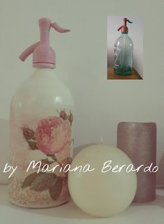 Jar Crafts, Diy And Crafts, Recycled Bottles, Recycling, Soap, Collages, Scrapbooking, Decorated Bottles, Denim Ideas