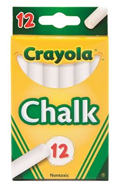 Kids' Drawing Chalks - Crayola Chalk White 12Pack ** Be sure to check out this awesome product.