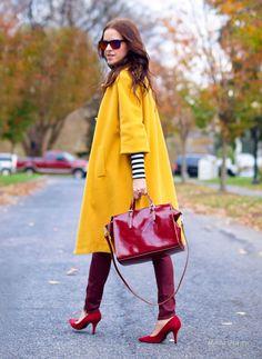 """Мода и стиль: Модный цвет осени 2016 """"пряная горчица"""": как включить в свой гардероб"""