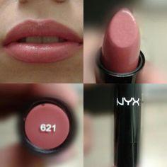 Mon premier produit # 621 l& NYX Cosmetics Source b . - Mon premier Produit # 621 love it NYX Cosmetics Source par carlaelyse Les images i - Nyx Lipstick, Lipstick Shades, Lipstick Colors, Lip Colors, Brown Lipstick, Natural Lipstick, Neutral Colors, Nyx Lip Liner, Best Lipstick Color