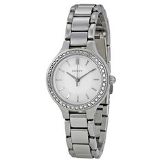DKNY Women's Silver Analog Watch NY2220 ewatchesusa.com