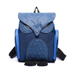 2016 New Brand Design Women Rucksack Leather Owl Backpack Female Mujer Mochila Escolar Feminina School Bag mochila feminina #30