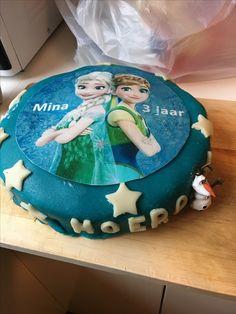 Homemade birthdaycake for my 3 year old daughter.