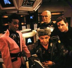 I got the complete collection of Red Dwarf for Christmas. Red Dwarf is a classic British Sci-fi comedy that stars Craig Charles as Dave . Sci Fi Comedy, Comedy Tv, Comedy Show, British Tv Comedies, British Comedy, Craig Charles, Red Dwarf, Best Tv, Favorite Tv Shows