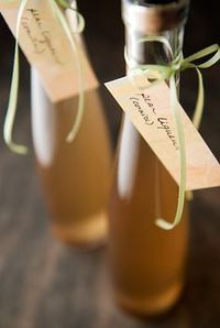 Pear liquor  Found 375 ml bottles at Lable Peelers +corks  24 for about $50.00