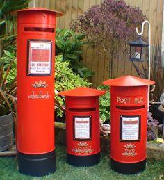 Wedding post box, Royal mail pillar box, Schools, Office, Events,Any colour. Buy