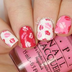 Happy valentines day nails are something you are bound to consider when the holi. - Happy valentines day nails are something you are bound to consider when the holi day na - Manicure Gel, Short Nail Manicure, Manicure Ideas, Gel Nail, Nail Ideas, Valentine Nail Art, Holiday Nail Art, Valentine's Day Nail Designs, Nail Polish Designs