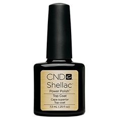 CND Shellac Top Coat and Base coat - $15 each