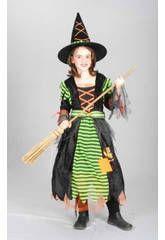 Disfraz bruja pretty niña