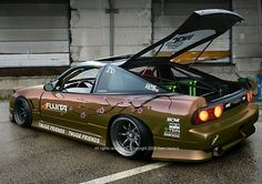 Sweet 240...on watanabe wheels...cone killer for sure