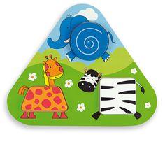 Купете Andreu toys - Дървен пъзел - джунгла