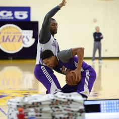 Lakers @ their training facilities. http://ift.tt/1RcCEE3...