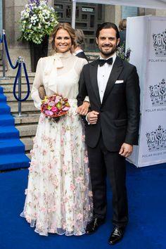 Princess Madeleine of Sweden and Prince Carl Philip of Sweden attend Polar Music Prize on June 15 2017 in Stockholm Sweden