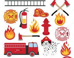 Firefighter clipart Fire clipart 1521
