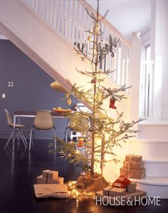 """A """"Charlie Brown"""" Christmas Tree 
