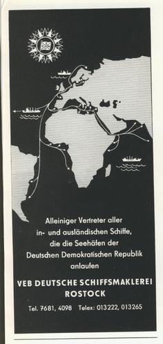Rostock VEB Deutsche Schiffsmaklerei