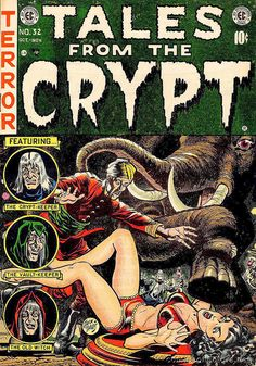 vintage Tales from the Crypt cover   Flickr - Photo Sharing!