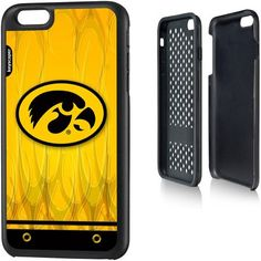 Iowa Hawkeyes Apple iPhone 6 Plus (5.5 inch) Rugged Case