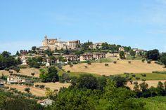 Panoramica di Magliano di Tenna #marcafermana #maglianoditenna #fermo #marche