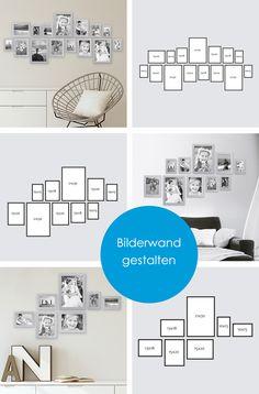 Bilderrahmen-Sets: Eine stilvolle Dekoidee für dein Zuhause