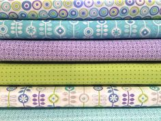 From Bump to Baby Fat Quarter Bundle of 6 By Gina by JennyMFabrics
