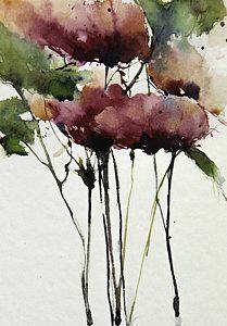 Wild Roses Art Print by Annemiek Groenhout