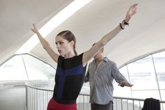 "Choreography for ""You Should Be Dancing"" - Longchamp Spring 2013"