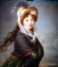 """""""Portrait de femme"""", 1797 d'Elisabeth Louise Vigée Le Brun © Photo Éric Simon"""