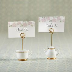Transport your guests to the middle of an English garden with tea-party bridal shower favors and Pastel floral bridal shower table decor from My Wedding Favors. Bridal Shower Tables, Tea Party Bridal Shower, Bridal Shower Favors, Bridal Showers, Wedding Favors, Tea Party Wedding, Tea Party Birthday, Tea Party Table, Tea Party Favors