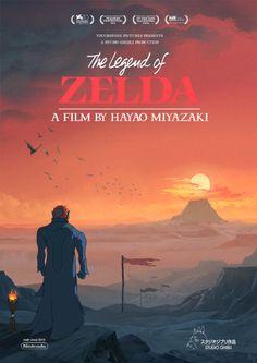 Como seria se The Legend of Zelda fosse criado pelo Studio Ghibli? | Studio Ghibli Brasil